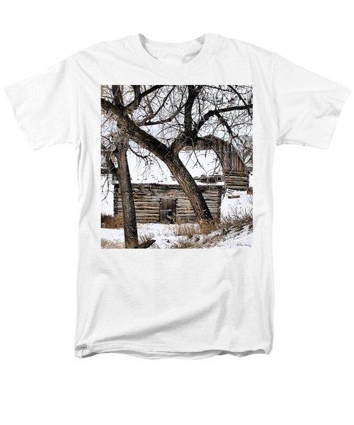 Old Ulm Barn Men's T-Shirt  (Regular Fit) by Susan Kinney