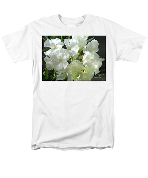 Oleander Mont Blanc 2 Men's T-Shirt  (Regular Fit) by Wilhelm Hufnagl