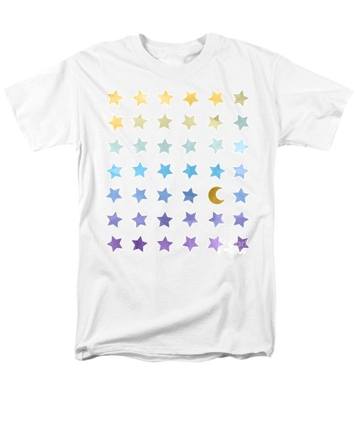 Ombre Cosmos Men's T-Shirt  (Regular Fit) by Whitney Morton