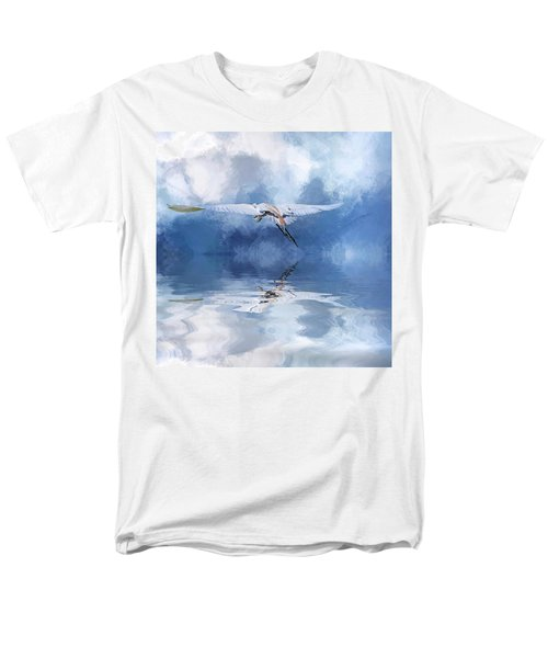 On A Wing And A Prayer Men's T-Shirt  (Regular Fit) by Cyndy Doty