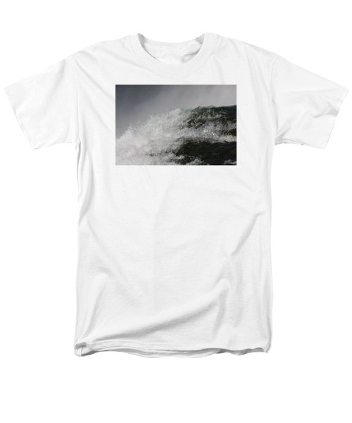 Men's T-Shirt  (Regular Fit) featuring the photograph On Edge by Vadim Levin