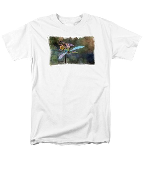 On The Back Of A Dragonfly Men's T-Shirt  (Regular Fit) by Constantine Gregory