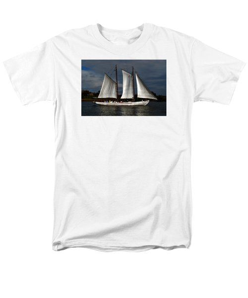 The A. J. Meerwald Men's T-Shirt  (Regular Fit) by Richard Ortolano