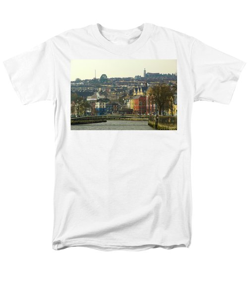 Men's T-Shirt  (Regular Fit) featuring the photograph On The River Lee, Cork Ireland by Marie Leslie