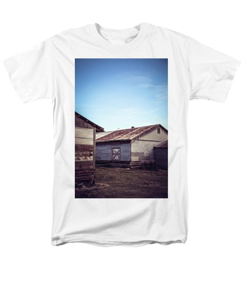 Men's T-Shirt  (Regular Fit) featuring the photograph Once Industrial - Series 2 by Trish Mistric