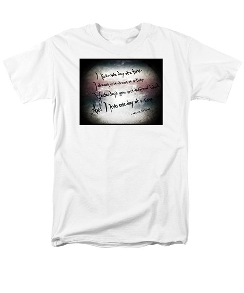 Men's T-Shirt  (Regular Fit) featuring the photograph One Day.... by Trish Mistric