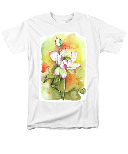 Men's T-Shirt  (Regular Fit) featuring the painting One Sunny Day by Anna Ewa Miarczynska