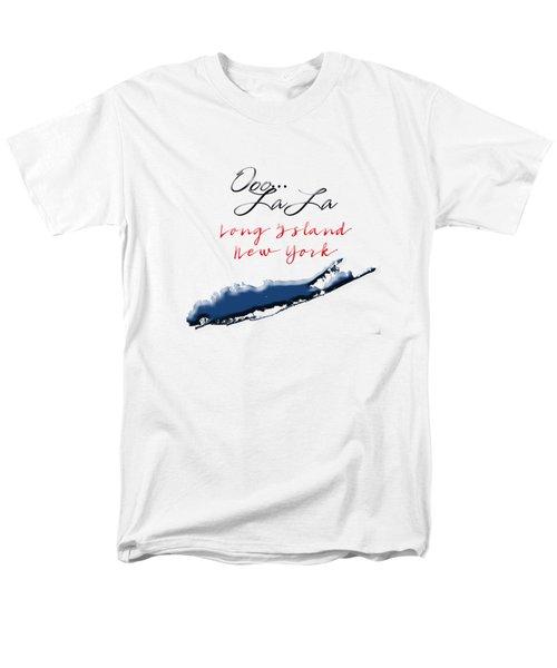 Ooo La La Long Island Men's T-Shirt  (Regular Fit) by Judy Hall-Folde