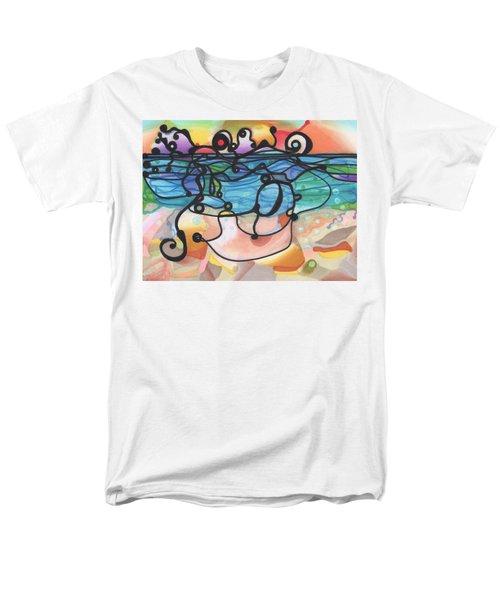 Optimism Men's T-Shirt  (Regular Fit) by Regina Valluzzi