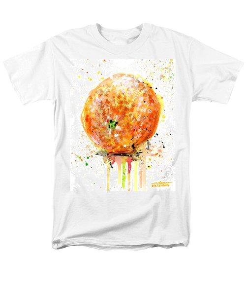 Orange 1 Men's T-Shirt  (Regular Fit) by Arleana Holtzmann