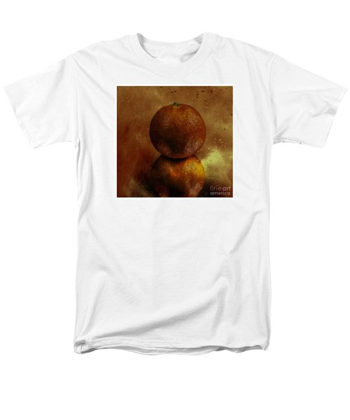 Men's T-Shirt  (Regular Fit) featuring the photograph Orange Art by Shirley Mangini