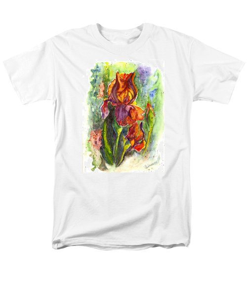 Men's T-Shirt  (Regular Fit) featuring the painting Orange Ice by Carol Wisniewski