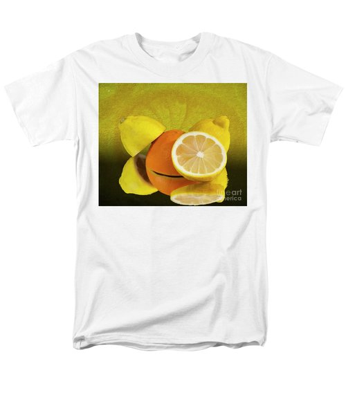 Oranges And Lemons Men's T-Shirt  (Regular Fit) by Shirley Mangini