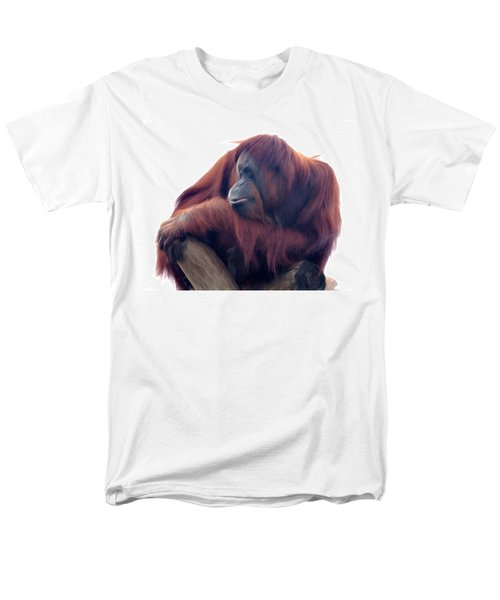 Orangutan - Color Version Men's T-Shirt  (Regular Fit) by Lana Trussell