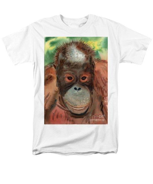 Orangutan Men's T-Shirt  (Regular Fit) by Donald Maier