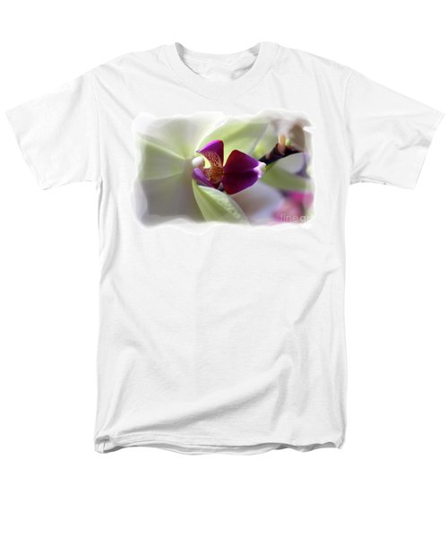 Orchid 2 Men's T-Shirt  (Regular Fit) by David Bearden