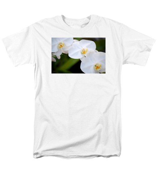 Orchid Flow Men's T-Shirt  (Regular Fit) by Deborah  Crew-Johnson