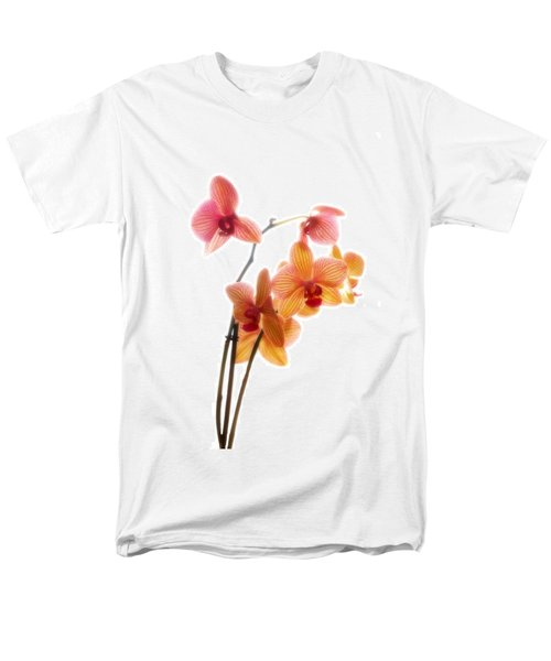 Orchids Men's T-Shirt  (Regular Fit) by Mark Alder