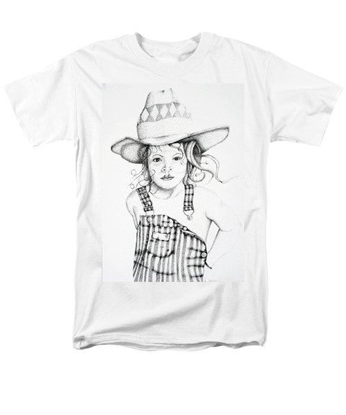 Men's T-Shirt  (Regular Fit) featuring the drawing Osh Kosh by Mayhem Mediums