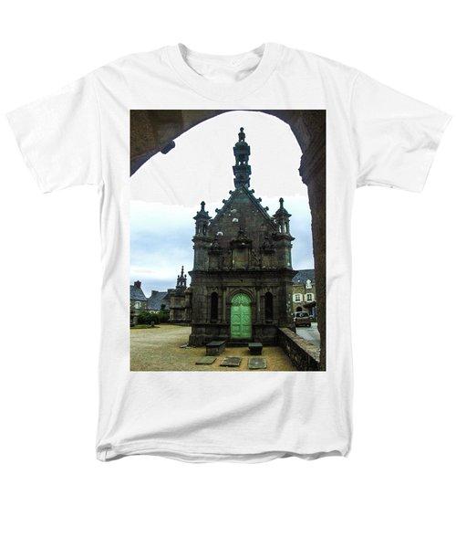 Ossuary Of St Thegonnec Men's T-Shirt  (Regular Fit) by Helen Northcott