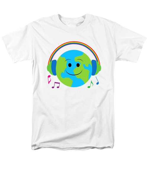 Our Musical World Men's T-Shirt  (Regular Fit) by A