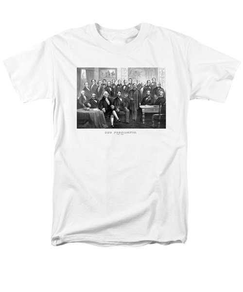 Our Presidents 1789-1881 Men's T-Shirt  (Regular Fit) by War Is Hell Store