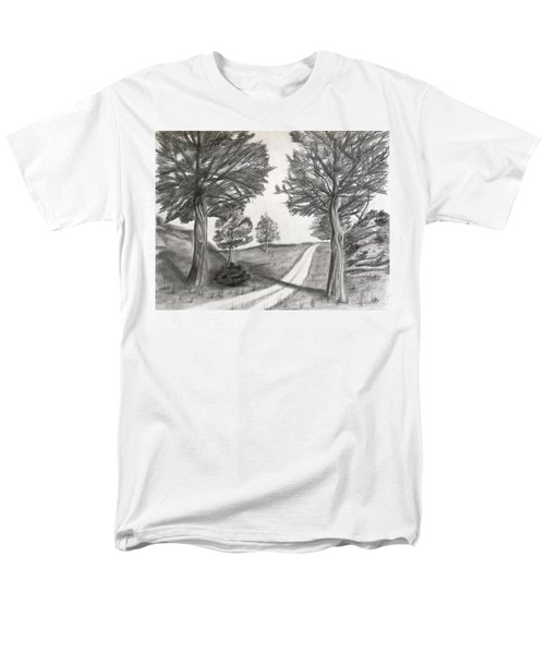 Out For A Walk Men's T-Shirt  (Regular Fit)