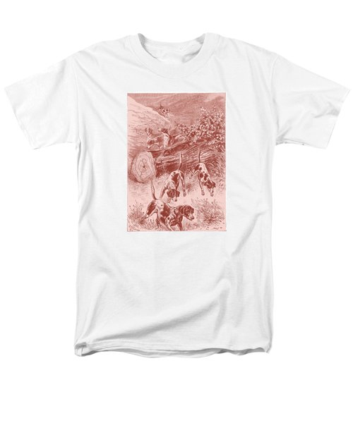 Men's T-Shirt  (Regular Fit) featuring the drawing Out Foxing by David Davies