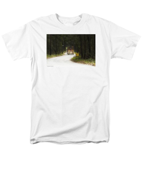Men's T-Shirt  (Regular Fit) featuring the photograph Over Size 01 by Kevin Chippindall