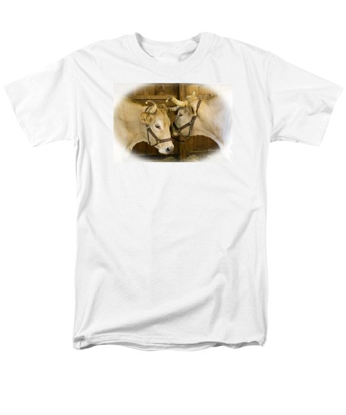 Oxen Team Men's T-Shirt  (Regular Fit) by Kevin Fortier