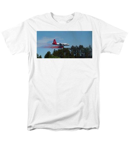 P2v Red Canyon Fire Men's T-Shirt  (Regular Fit) by Bill Gabbert