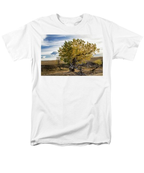 Painted By Nature Men's T-Shirt  (Regular Fit) by Alana Thrower