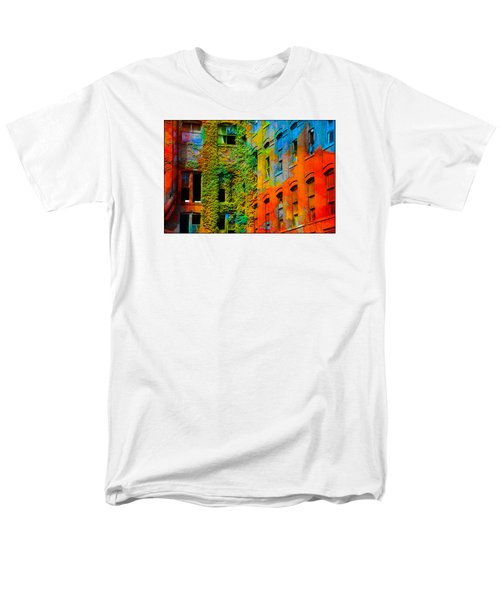 Painted Windows Men's T-Shirt  (Regular Fit)