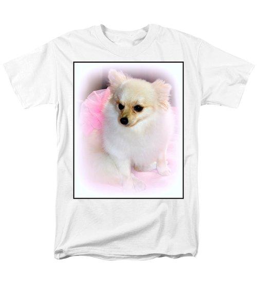 Pampered Pomeranian  Men's T-Shirt  (Regular Fit)