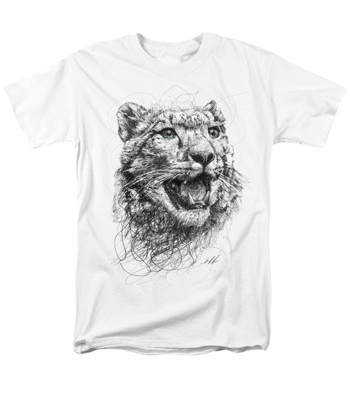 Leopard Men's T-Shirt  (Regular Fit) by Michael Volpicelli