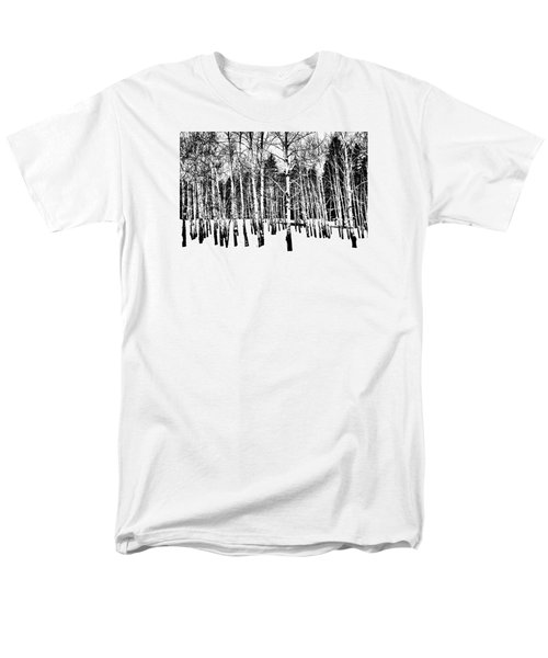 Parade Of Aspens Men's T-Shirt  (Regular Fit)