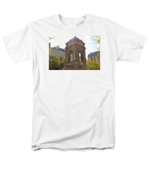 Paris Men's T-Shirt  (Regular Fit) by Kaitlin McQueen