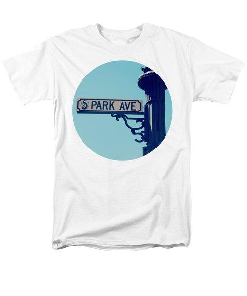 Park Ave T Shirt Men's T-Shirt  (Regular Fit) by Valerie Reeves