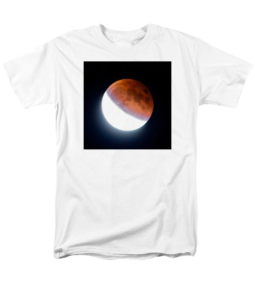 Partial Super Moon Lunar Eclipse Men's T-Shirt  (Regular Fit) by Todd Kreuter