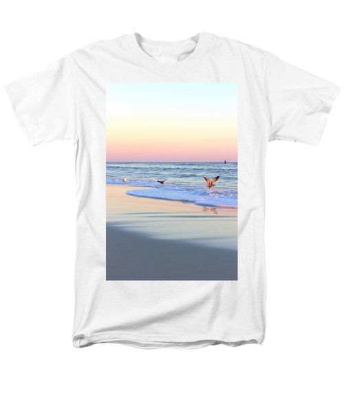 Pastels On Water Men's T-Shirt  (Regular Fit) by Faith Williams