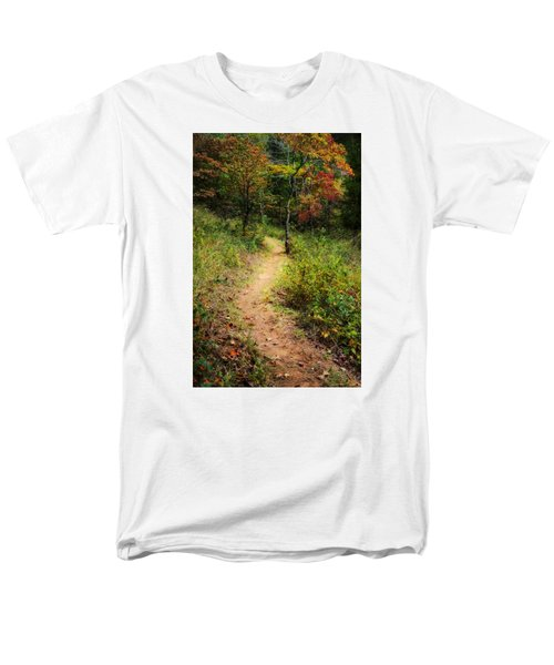 Path In The Prairie Men's T-Shirt  (Regular Fit) by Diana Boyd