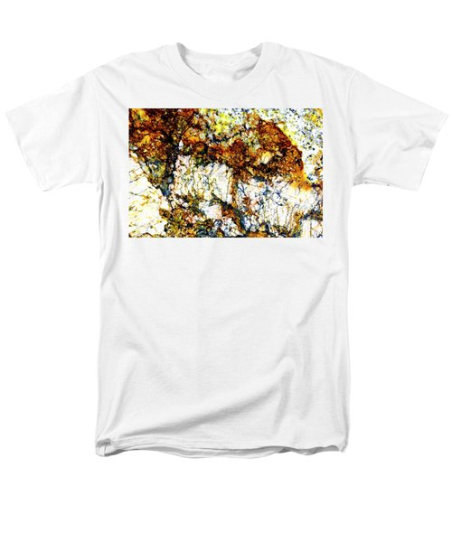 Men's T-Shirt  (Regular Fit) featuring the photograph Patterns In Stone - 210 by Paul W Faust - Impressions of Light