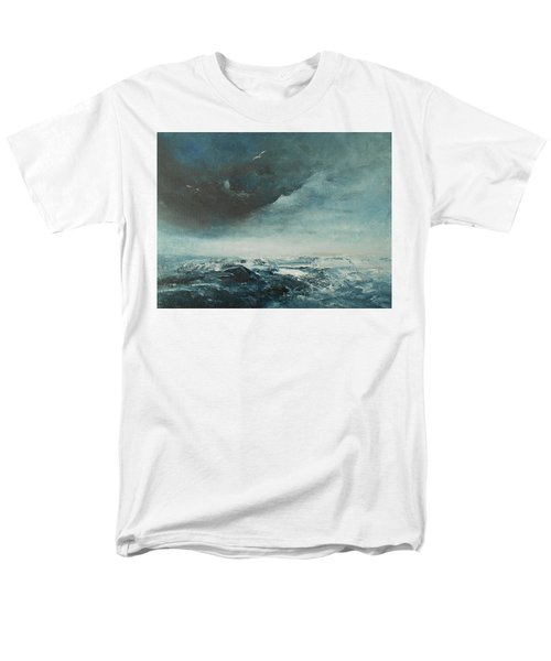 Peace In The Midst Of The Storm Men's T-Shirt  (Regular Fit) by Jane See
