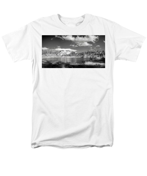 Men's T-Shirt  (Regular Fit) featuring the photograph Peaceful Lake by Jon Glaser