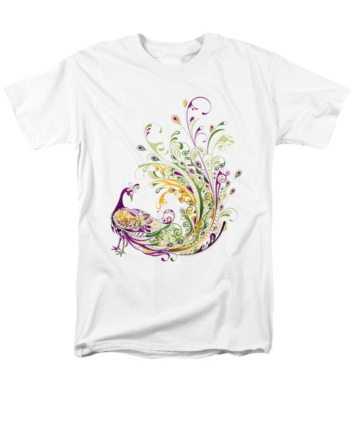 Peacock Men's T-Shirt  (Regular Fit) by BONB Creative