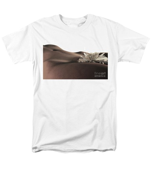 Pelvis Petals Men's T-Shirt  (Regular Fit) by Robert WK Clark