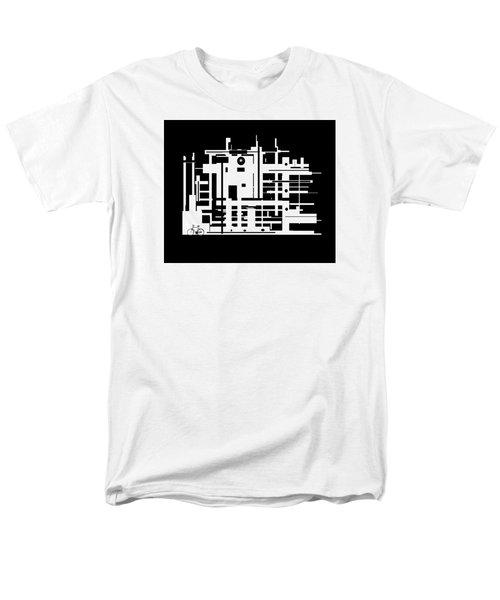 Penman Original-325- The Visitor Men's T-Shirt  (Regular Fit) by Andrew Penman