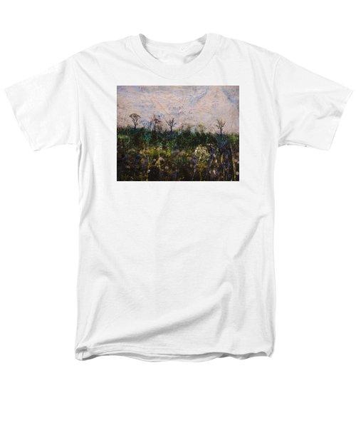 Pentimento Men's T-Shirt  (Regular Fit) by Ron Richard Baviello