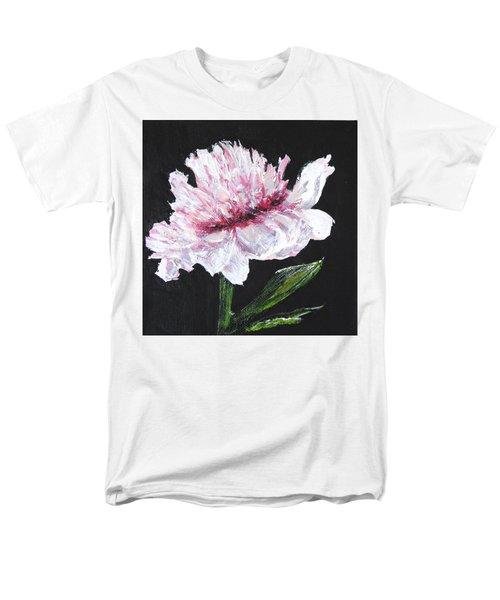 Peony Bloom Men's T-Shirt  (Regular Fit) by Betty-Anne McDonald