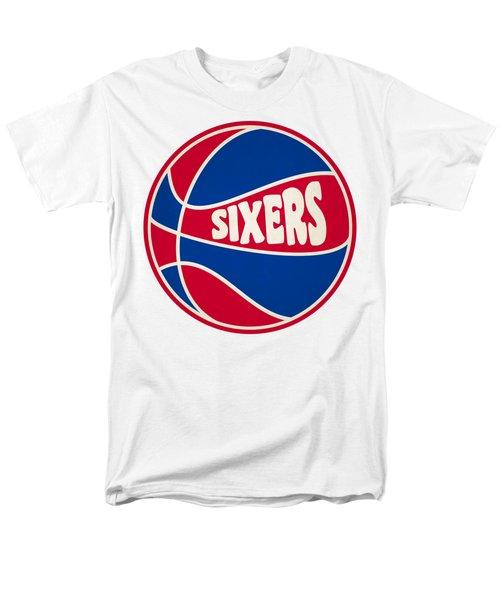 Philadelphia 76ers Retro Shirt Men's T-Shirt  (Regular Fit) by Joe Hamilton